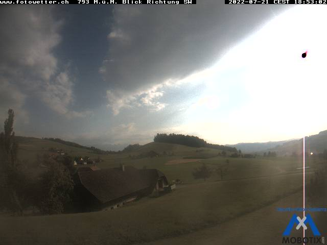 Webcam Oberhüningen